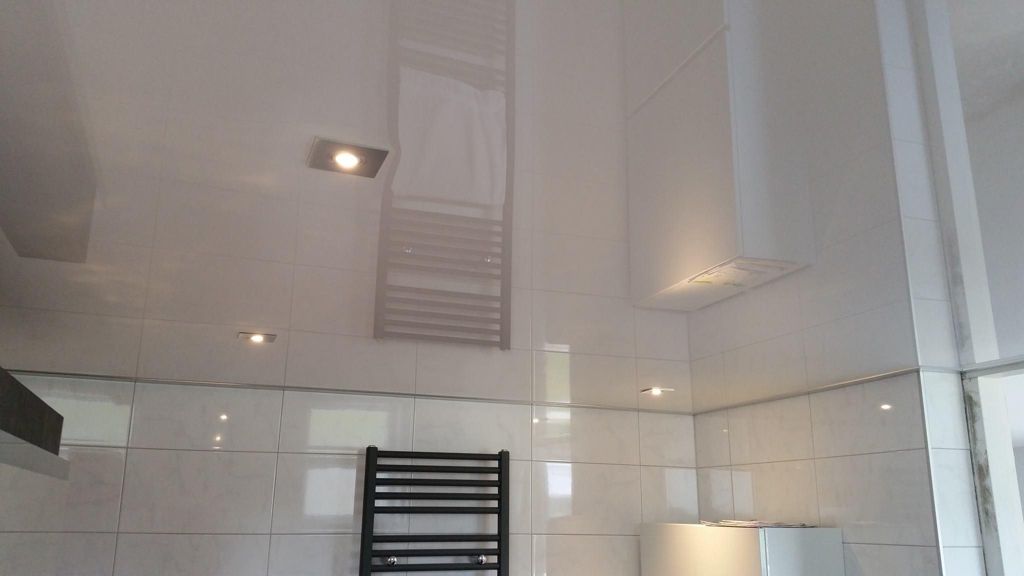 Badkamer-spanplafond-hoogglans - Badmeesters