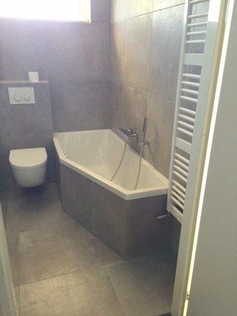 Betonlook badkamer Deventer - Badmeesters